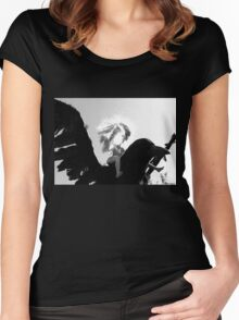 Barbie Conquers the Monsterbird Women's Fitted Scoop T-Shirt