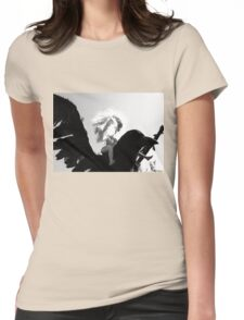Barbie Conquers the Monsterbird Womens Fitted T-Shirt
