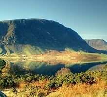 Mellbreak and Crummock Water by VoluntaryRanger