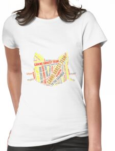eerie indiana Womens Fitted T-Shirt