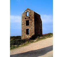 Old Tin Mine Cornwall Photographic Print