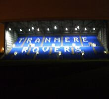 Tranmere Rovers (The Kop stand) by Russell Tierney