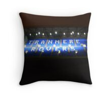 Tranmere Rovers (The Kop stand) Throw Pillow