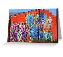 Art in overtime Greeting Card