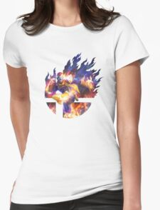 Smash Hype - Captain Falcon Womens Fitted T-Shirt