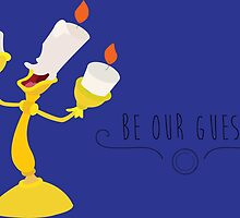-Lumiere Be our guest by spiritofdisney