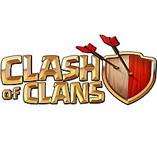 CLASH OF CLANS PRODUCTS Photographic Print