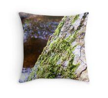 tree moss  Throw Pillow