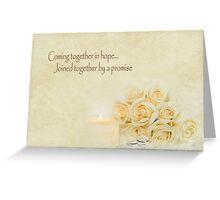 Wedding Promise Greeting Card