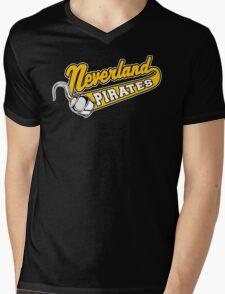 Neverland Pirates Mens V-Neck T-Shirt