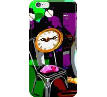 Les Faux-Collages d'HannaH - What time is it ? iPhone Case/Skin