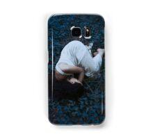 Sleeping girl in forest Samsung Galaxy Case/Skin