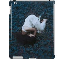 Sleeping girl in forest iPad Case/Skin