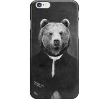 Distinguished Bear iPhone Case/Skin