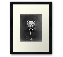 Distinguished Bear Framed Print