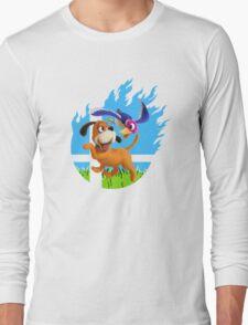 Smash Hype - Duck Hunt Dog Long Sleeve T-Shirt