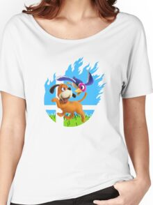 Smash Hype - Duck Hunt Dog Women's Relaxed Fit T-Shirt