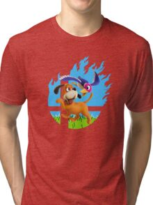 Smash Hype - Duck Hunt Dog Tri-blend T-Shirt