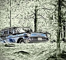 Classic-1957 Chevrolet Station Wagon by Ron Day