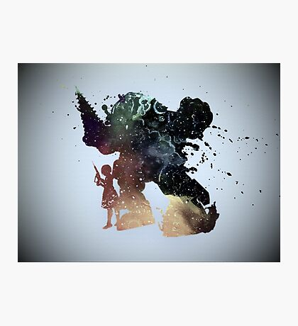 BioShock Big Daddy & Little Sister Photographic Print