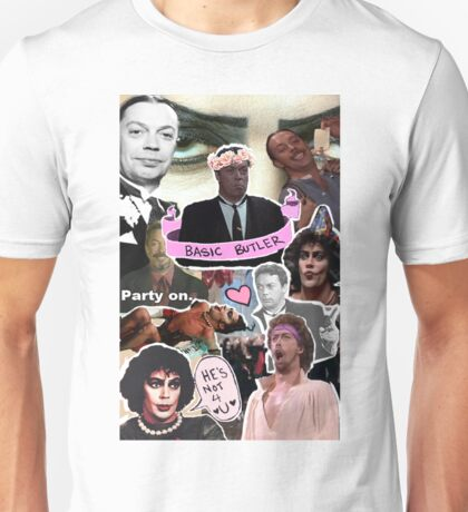 The God that is Tim Curry Unisex T-Shirt