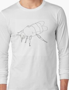 Simple Bumble Bee Long Sleeve T-Shirt