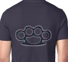 Brass knuckle/Knuckle Duster skull radioactivity Unisex T-Shirt