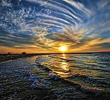 hypnotic sunset  by Ronsho