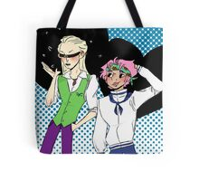 Coby and Helmeppo the smol marines Tote Bag