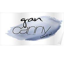 Gan Canny - big blue Poster
