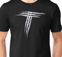 NSL Letter T White Scratch Unisex T-Shirt
