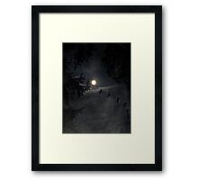 ~ Fly by Night ~ Framed Print