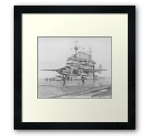 Raiders Depart Framed Print