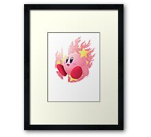 Smash Hype - Kirby Framed Print