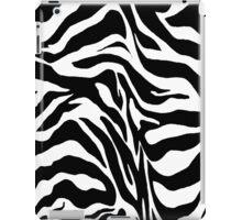 Zebra Print iPad Case/Skin