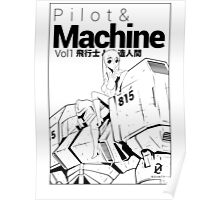 Pilot & Machine Vol Poster