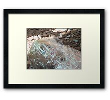 Wrapped in Plastic (color version) Framed Print
