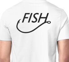 FISH HOOK Unisex T-Shirt