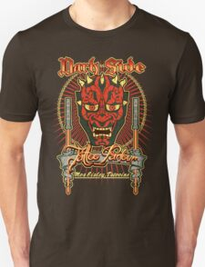 Dark Side Tattoo Parlour Unisex T-Shirt