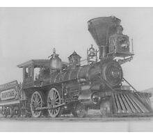 "'Golden Spike' Ceremonial Engine- ""Jupiter"" Photographic Print"