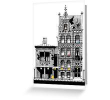 Pac-Man City Greeting Card