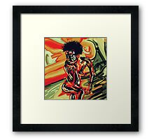 Nude Model  Framed Print