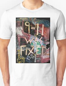 9-11 WAS FIXED LARGE T-Shirt