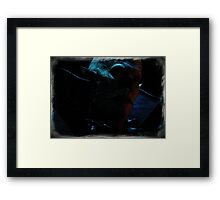 The Master Half Tone Framed Print