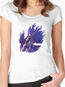 Smash Hype - Marth Women's Fitted Scoop T-Shirt