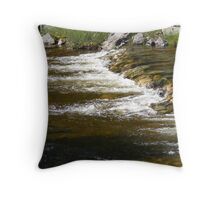 Mission Creek Cascading Rivulet Throw Pillow