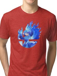 Smash Hype - Megaman Tri-blend T-Shirt