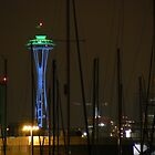 Sailing Space Needle by Sean LaBelle