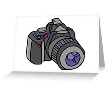 Digital Camera Greeting Card