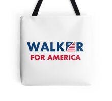 Scott Walker For America Tote Bag